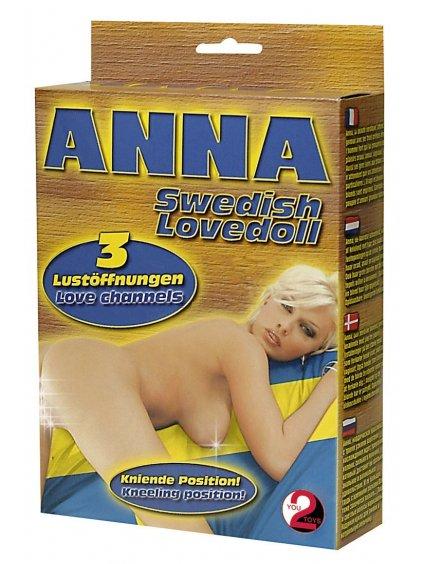 Nafukovací panna Anna (klečící)