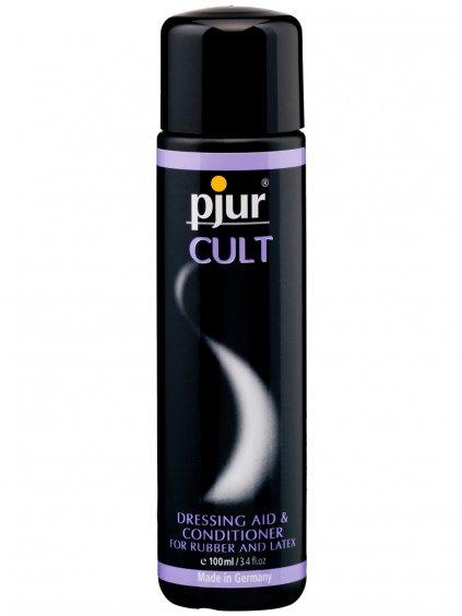 Pjur CULT - pro snadné oblékání gumy a latexu  100 ml