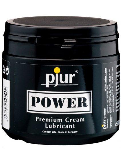 Krémový hybridní lubrikant Pjur Power  500 ml