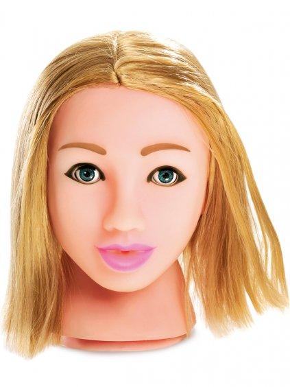 Něžná blondýnka - masturbátor Fuck My Face Blonde v životní velikosti
