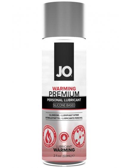 Silikonový lubrikační gel System JO Premium Warming  hřejivý, 60 ml