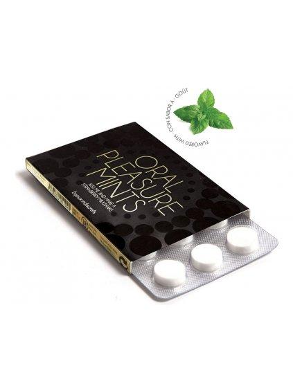 Bonbóny na orální sex Bijoux Indiscrets Oral Pleasure Mints Peppermint  12 ks