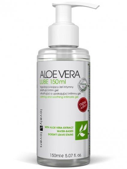 Antibakteriální lubrikační gel Lovely Lovers ALOE VERA  150 ml
