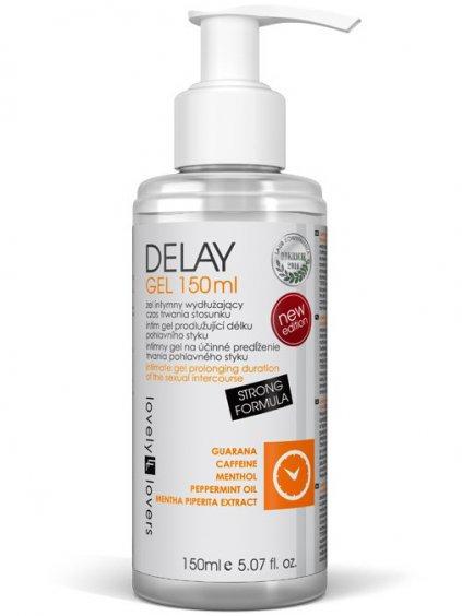 Lubrikační gel na oddálení ejakulace Lovely Lovers DELAY  150 ml