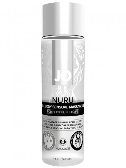 Masážní gel System JO Nuru Full Body Sensual  240 ml