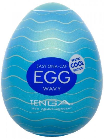 Masturbátor pro muže TENGA COOL Egg Wavy