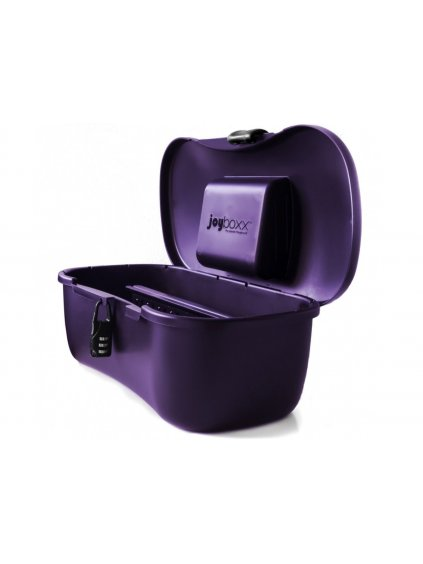 Hygienický kufřík na pomůcky Joyboxx  fialový
