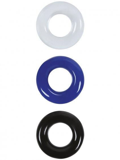 Sada erekčních kroužků Renegade Stamina Rings  3 ks
