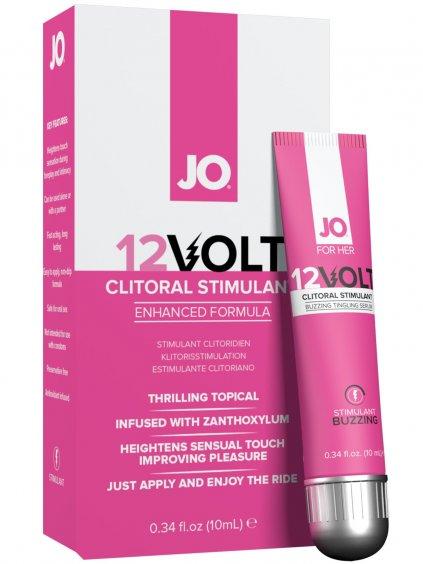 Stimulační gel na klitoris System JO 12Volt  10 ml