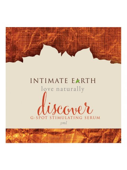 Stimulační sérum na bod G Intimate Earth Discover  VZOREK, 3 ml