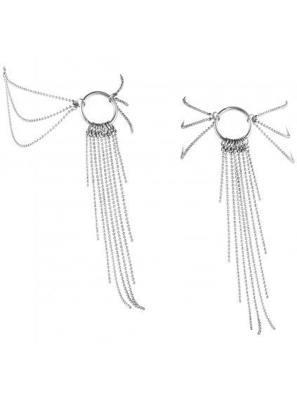 Ozdobné řetízky na kotníky Magnifique Silver  stříbrné