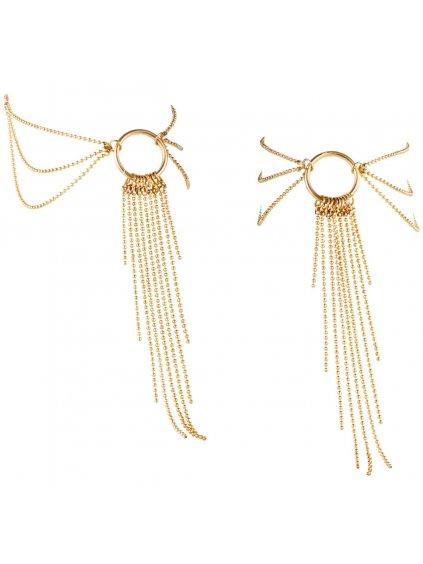 Ozdobné řetízky na kotníky Magnifique Gold  zlaté