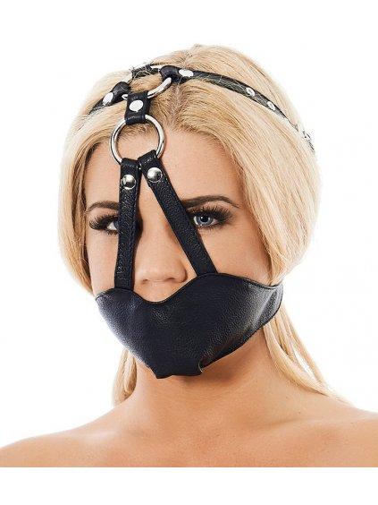 Kožená maska na ústa (náhubek) Rimba