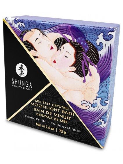 Sůl do koupele Shunga Exotic Fruits  exotické ovoce, 75 g