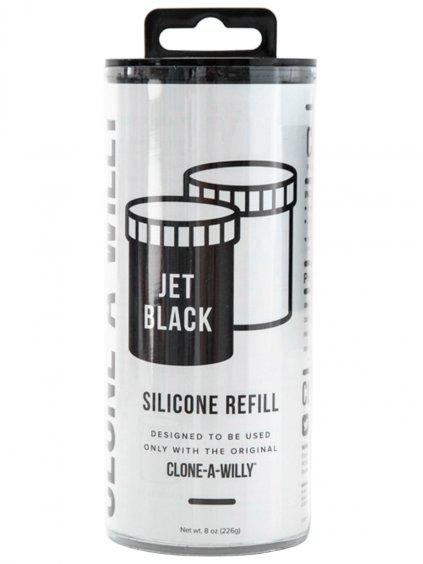 Náhradní silikon pro Clone-A-Willy  černý