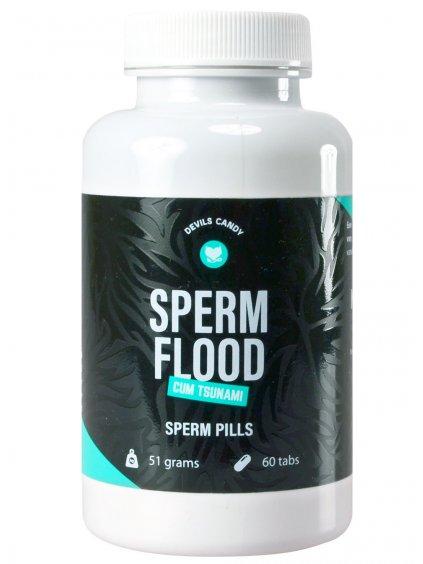Tablety na lepší tvorbu spermií Devils Candy Sperm Flood  60 kapslí