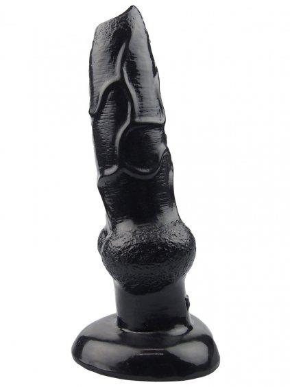Animal dildo FAAK DOG - psí penis  černý