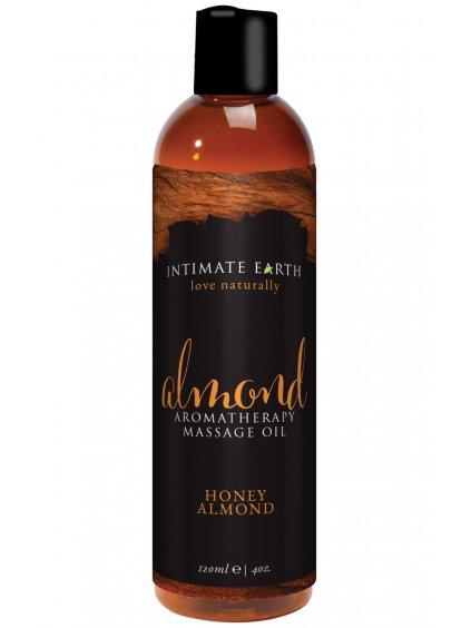 Masážní olej Intimate Earth Almond  120 ml