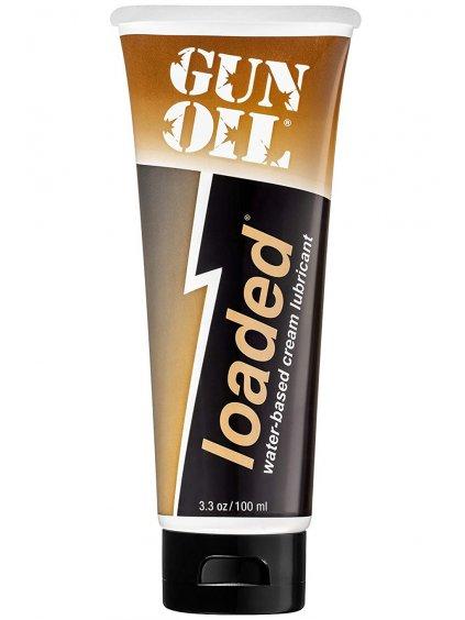 Hybridní krémový lubrikační gel Gun Oil Loaded  100 ml
