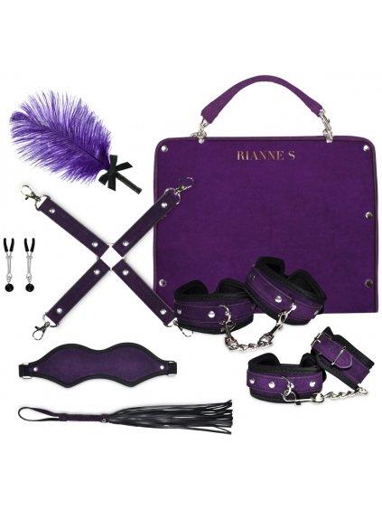 Cestovní BDSM sada Rianne S Kinky Me Softly Purple