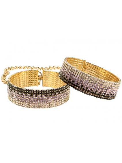 Ozdobná pouta Rianne S Diamond Cuffs Liz