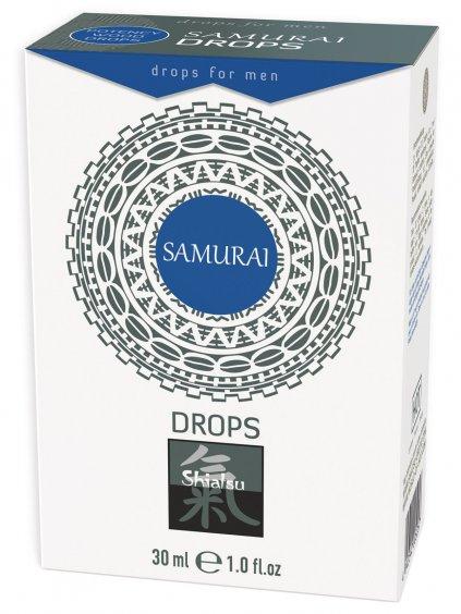Afrodiziakální kapky pro muže Samurai Drops  30 ml