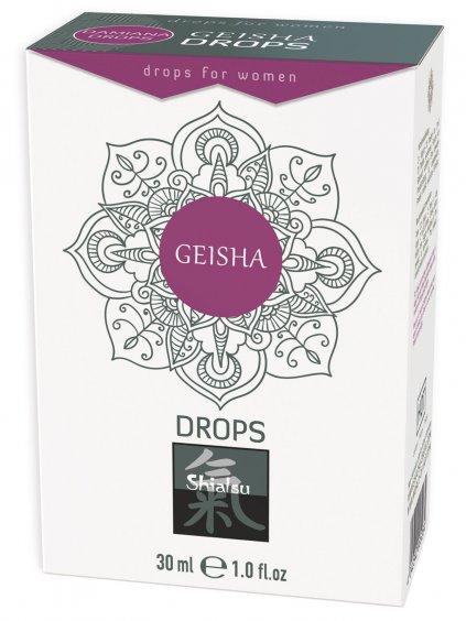 Afrodiziakální kapky pro ženy Geisha Drops  30 ml