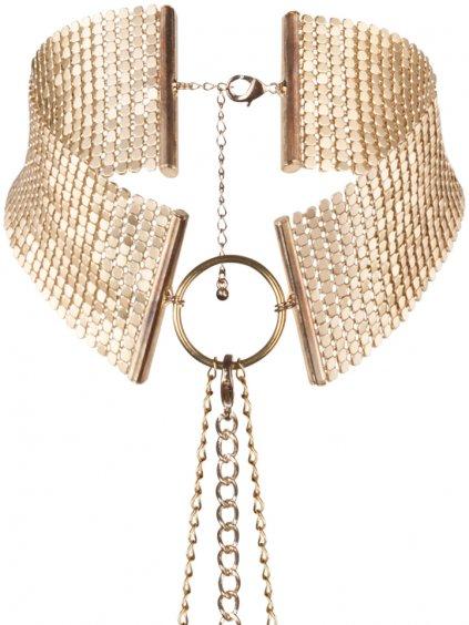 Obojek - náhrdelník Désir Métallique Gold  zlatý