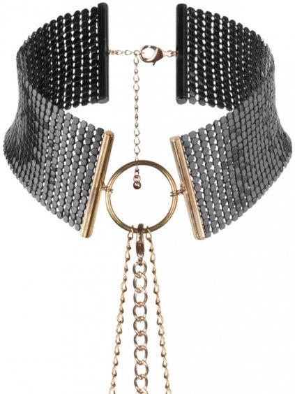 Obojek - náhrdelník Désir Métallique Black  černý