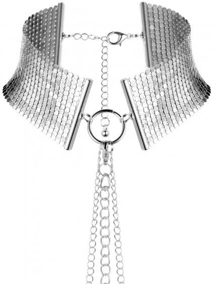 Obojek - náhrdelník Désir Métallique Silver  stříbrný