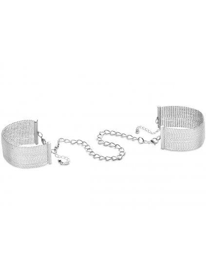 Pouta - náramky Magnifique Silver  stříbrná