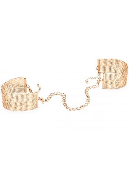 Pouta - náramky Magnifique Gold  zlatá