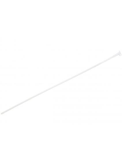 Transparentní silikonový katétr se zátkou  na cévkování