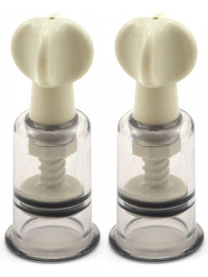 Vakuová pumpička na bradavky a klitoris  sada 2 ks