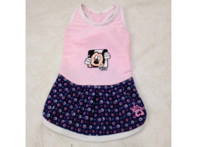 Šaty pro psy s Mickey Mousem