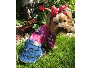 Letní mikina se sukýnkou pro psy