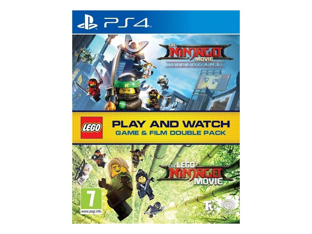 1757 lego ninjago movie video game game and film double pack ps4