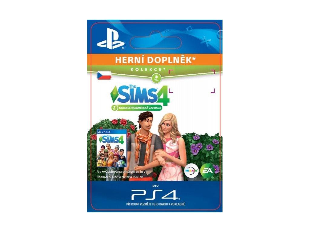 2048 the sims 4 romanticka zahrada