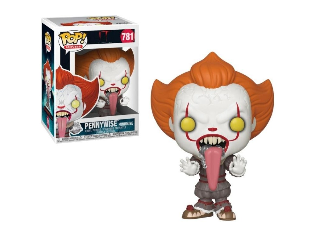 2210 funko pop stephen king s it 2 pennywise dog tongue 781