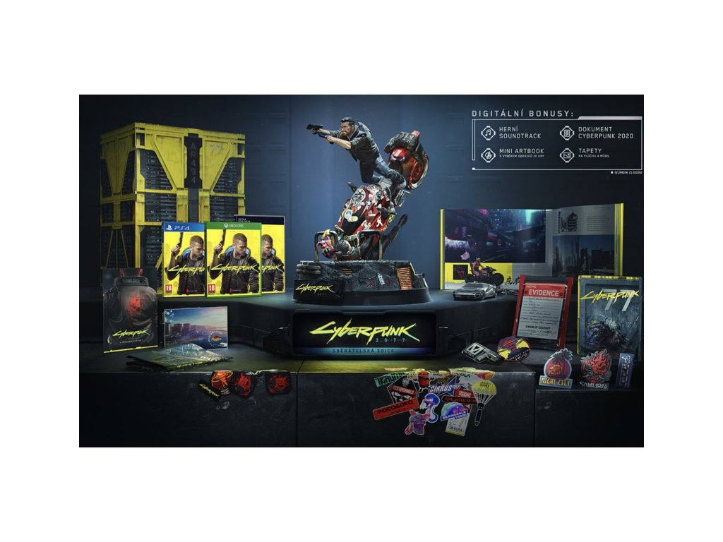 2315 cyberpunk 2077 collector s edition ps4