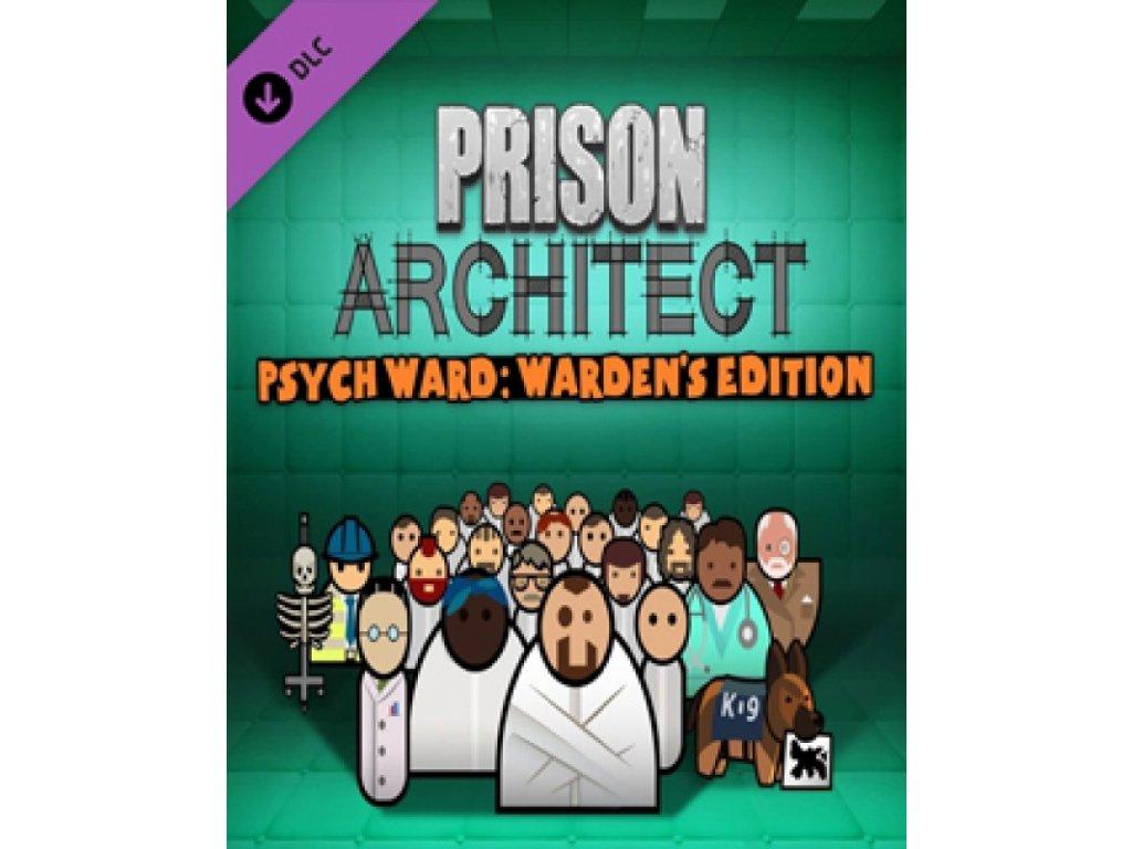 2900 prison architect psych ward warden s edition dlc steam pc