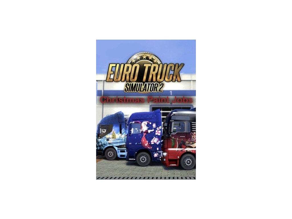 3560 euro truck simulator 2 christmas paint jobs pack dlc steam pc