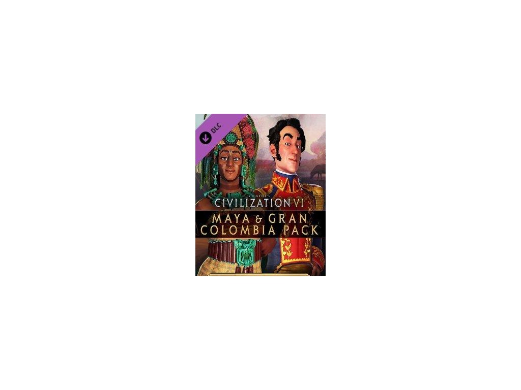 3605 civilization vi maya gran colombia pack dlc steam pc