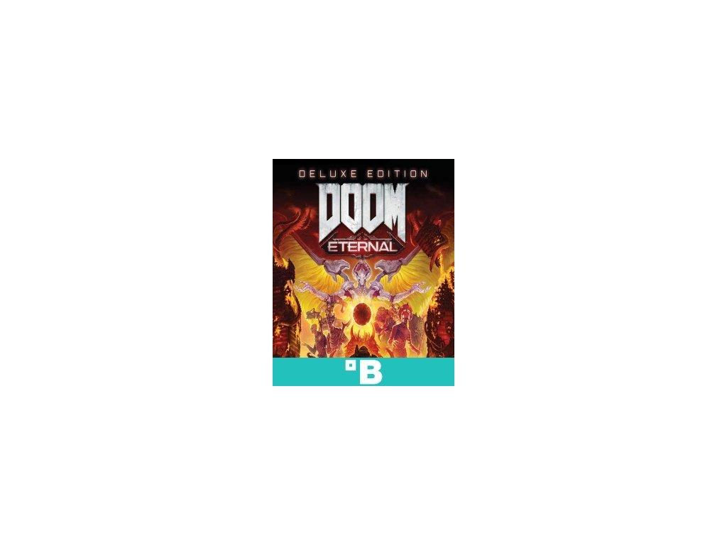 3743 doom eternal deluxe edition bethesda pc