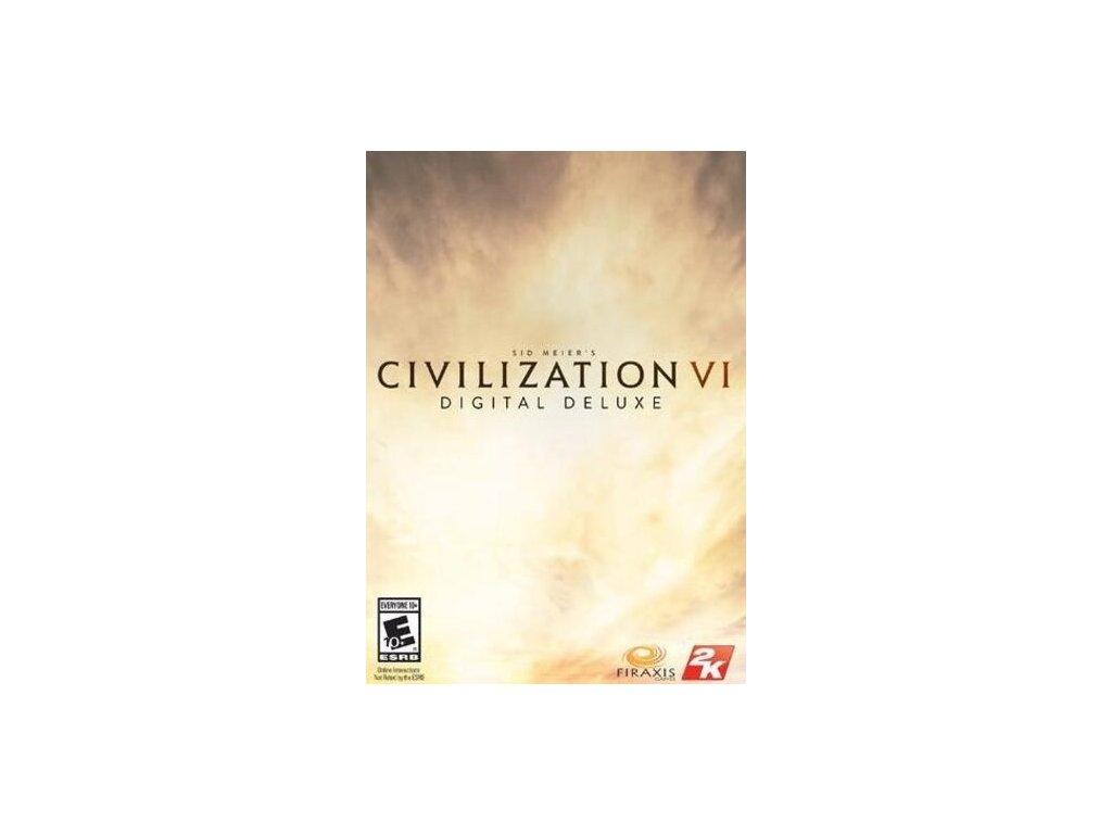 3764 sid meier s civilization vi digital deluxe edition steam pc