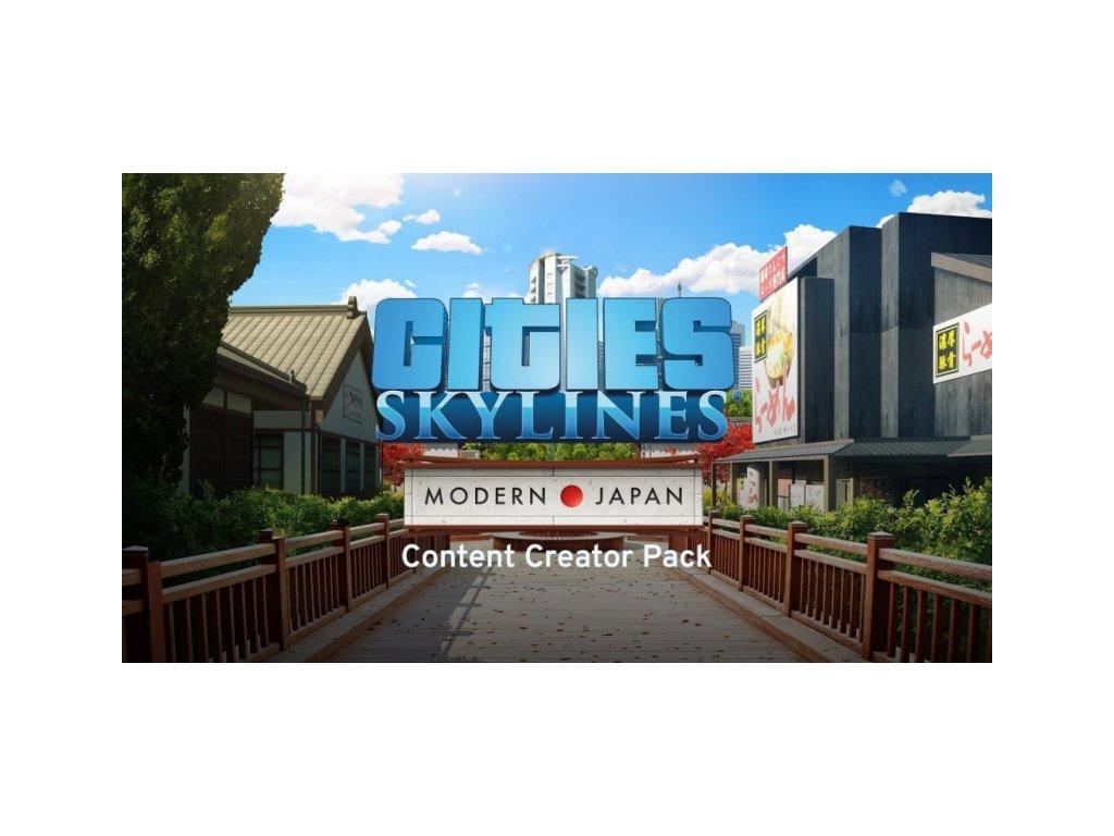 4001 cities skylines content creator pack modern japan dlc steam pc