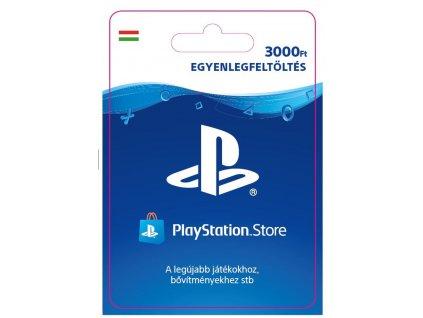 PlayStation Network Card 3000 HUF