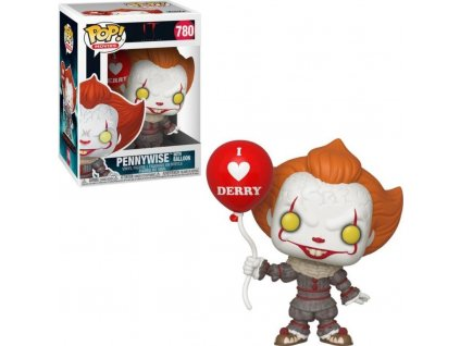 2102 funko pop it chapter 2 movies vinyl pennywise with balloon 9 cm 780