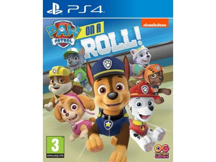 2348 paw patrol on a roll ps4