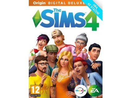 4130 the sims 4 deluxe edition origin pc